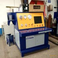 氮气瓶外测法检测设备 氧气瓶水压试压机 赛思特