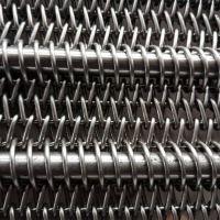 山东厂家促销食品输送网带 链条不锈钢双旋网带传动带 使用寿命长