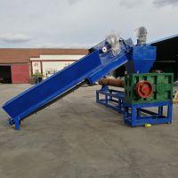 洪宝塑业长期供应大型260型造纸厂颗粒生产线,混合塑料造粒设备