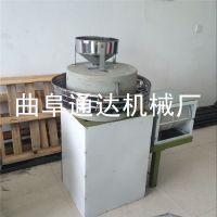 章丘 热销家用小型石磨面粉机 粮食加工全自动面粉机 面粉石磨机 通达