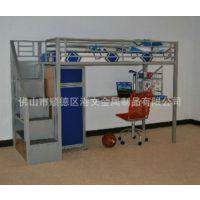 田园风格公寓床规格 金属床 厂家推荐 学生公寓配套铁皮柜组合床