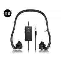新款热销轻便BTL-G002L黑色款骨传导耳机有线 跑步线控耳机 商务