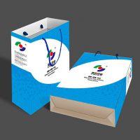 深圳手提纸袋定制 白卡纸企业宣传手提袋设计定做 服装纸袋定做印刷