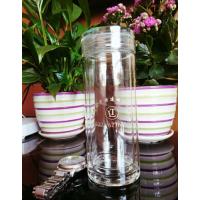 亿泉单层玻璃杯大容量高硼硅水晶茶杯子创意水杯男女士便携商务客户礼品杯