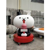 广州商场形象卡通雕塑神经猫公仔模型定做
