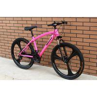 厂家直销新款彩色宝马山地自行车21速双碟刹批发活动礼品促销单车