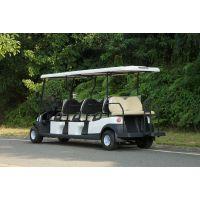 卓越生产的型号为A1S6+2 8人座电动观光车,楼盘接待的好帮手!