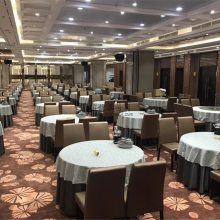 顺德中式饭店餐桌椅子定制,佛山顺德现代中式饭店家具生产厂家