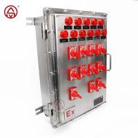 防爆动力配电箱 照明配电箱 升羿防爆控制箱 来图定做厂家直销