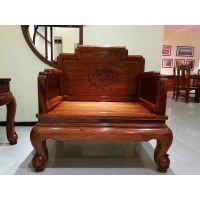 名琢世家新品国宾沙发123六件套价格 刺猬紫檀