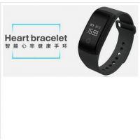 个性四合一专利防水A09心率血氧血压疲劳度智能手环