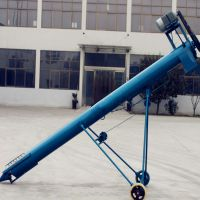 304不锈钢上料机 订做耐酸碱螺旋提升机