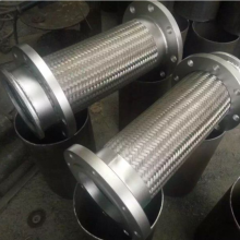 供应云南过蒸汽耐高温400°不锈钢金属软连接 DN250×2000金属软管信誉保证【润宏】