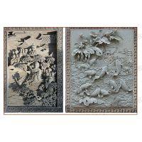 哈尔滨葡萄砖雕青砖砌块中式砖雕