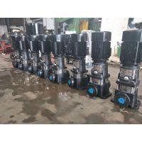 湛江市众度泵业立式多级泵结构图 不锈钢 QDL4-140 3KW