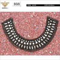 MIX-TOP-A2476欧美风金属质感手工钉珠衣领,钉珠领子,厂家直销