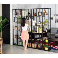 创意实木书架简约置物架实木隔板置物架简约