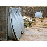 DN800管道排污玻璃啊钢拍门厂家