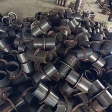 耐腐蚀钢衬陶瓷异径管厂家 耐磨弯头价格