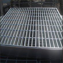 热镀锌钢格板 常用平台踏步板 防滑排水沟盖板