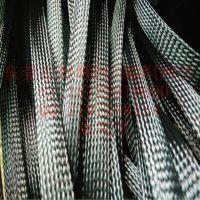 线束专用彩色PET尼龙伸缩编织网管花样定制编织网套管