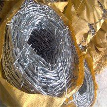 刺丝滚笼 带刺铁丝网规格 刺铁丝网