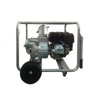 湖南6寸防汛应急汽油水泵 边立式水泵