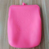 广告礼品包定制 KT猫硅胶钱包 大容量硅胶手拿包 成人五金硅胶包 化妆品手拿包订制