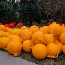 青岛海上警示浮球 直径40cm警戒浮球 君益滚塑工艺浮球