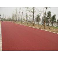 汉川市 彩色路面生产厂家 彩色路面工程