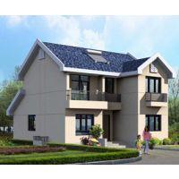 AT173新农村自建房二层别墅设计图纸10m×11.5m