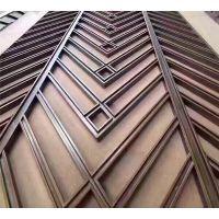 福建不锈钢钛金花格玄关厂家 镂空花格订制