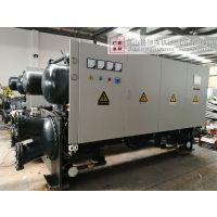 褔建耐腐蚀冷冻机组 化工电子专用高效换热量冷水机 出口东南亚冰水机冷却塔