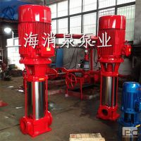 厂家销售立式多级消防泵 XBD14.0/45G-GDL消防泵 单级单吸喷淋泵 室内消火栓泵