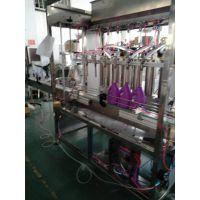 生产厂家 全自动洗衣液伺服自动灌装生产线