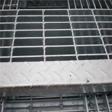 热镀锌钢格栅板 青岛网格板 水沟盖板制作