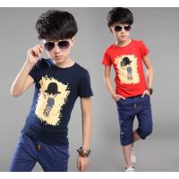 男女童春装纯棉T恤 特价新款儿童上衣男孩长袖圆领T恤春季打底衫