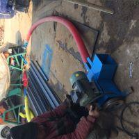 软管吸粮输送机 小型螺旋式抽沙机 塑料颗粒干沙上料机
