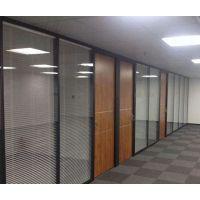 专业办公室玻璃隔断西安玻璃门厂家西安玻璃门定做