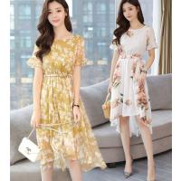 便宜女装连衣裙库存尾货杂款女装裙子2018夏季新款时尚雪纺连衣裙清货10元