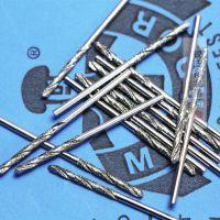 加工直柄电镀金刚石磨头 琥珀蜜蜡玉松石打孔针 翡翠金刚砂钻头