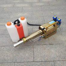 养殖场背负式消毒机 汽油动力卫生防疫消毒机 脉冲式喷药机使用视频