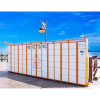 共享储物柜厂家智能柜厂家存放柜智能柜打通后台接通微信储物柜