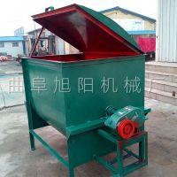 畅销100公斤饲料搅拌机 拌草机家用型 饲料混合搅拌机 旭阳