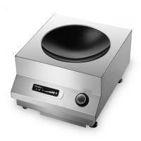 Chinducs华磁电磁炉TA5 高效5kw电磁小炒炉 商用多功能台式凹面炉