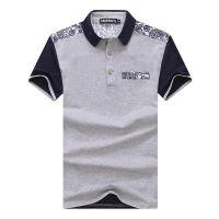 2017新款 欧美英伦外贸原单 复古做旧重水洗男士纯色圆领短袖T恤