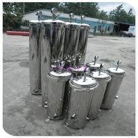 清又清直销云南制药厂不锈钢精密过滤器无菌水化学药液除菌滤芯式过滤系统