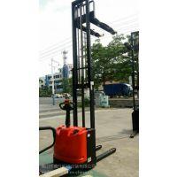 鑫力广州白云区1.5T/4.5M全电动叉车 电动堆高车 电瓶装卸堆垛车