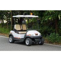 卓越定制款物業巡邏電瓶觀光白色四輪電動車巡邏車電動車