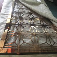 不锈钢屏风隔断,不锈钢花格厂家